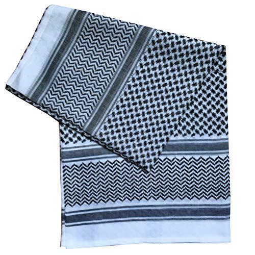 Casue Traditionelle Arabische Kopfbedeckung Islamische Schal Turban Kopfbedeckung Arabische Kopftuch Muslimische Abdeckung Schals Hijab Schal Dubai Kopftuch Headwrap Kopfschmuck