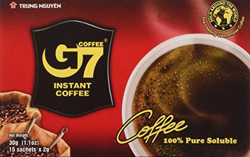 G7 100% Löslicher Kaffee - Trung Nguyen Pure Black 30g