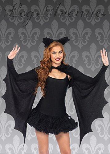 Womens Gothic gemütliche Fledermausflügel zucken (Erwachsenen Fledermaus Kostüme Gemütlich)