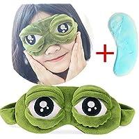 mxjeeio lustige Schlafmaske mit Froschaugen-Motiv, ideal bei Schlaflosigkeit und auf Reisen,Flusen-Schlaf-Augen-Maske... preisvergleich bei billige-tabletten.eu