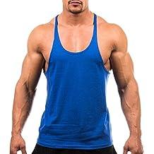 Butterme Mens assorbimento dell'umidità Y Indietro Allenamento maglia di basket Canotta Canotta Stringer maniche Gym T Shirt