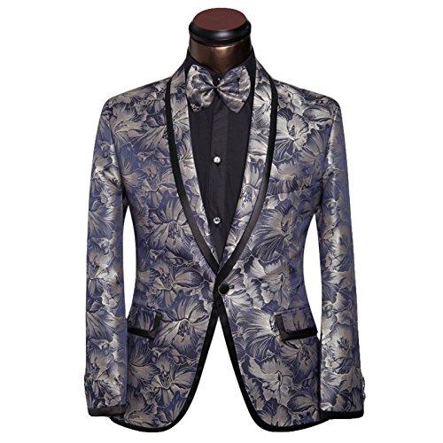 Costume Homme deux piece veste et pantalon cérémonie Bleu