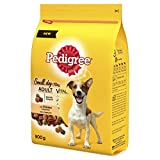 Pedigree Adult Dog Dry Food with Chicken and Vegetables, 900 g (Pack of 5)
