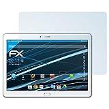 atFolix Displayschutzfolie für Huawei MediaPad M2 10.0 Schutzfolie - 2 x FX-Clear kristallklare Folie