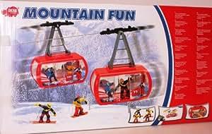 Téléphérique électrique avec personnages 'Mountain Fun'