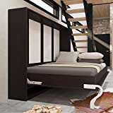 Armario cama Smart Veraflex Horizontal cama 140cm, horizontal plegable haya