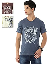 Classic Polo Pack Of 3 Slim-Fit Cotton T-shirts For Men