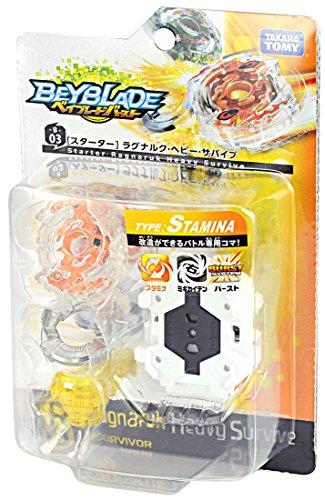 Takara Tomy Beyblade Burst B-03 Starter Ragunaruku Heavy Survive