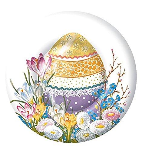 Boston International Style rustique à ressort de Pâques Décor Box, Papier, Decorative Egg 8\