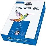 Avery Zweckform 2563 Papier Qualité premium pour imprimantes laser et jet d'encre Sans bois, blanc, vierge, pour copies, corr