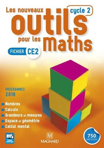 Les nouveaux outils pour les maths CE2, Cycle 2 : Fichier d'activités - Programme 2016