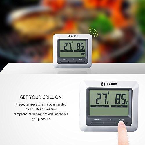 Zoom IMG-1 habor termometro cucina digitale
