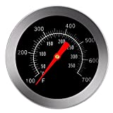 Zibuyu Stainless Steel BBQ Accessories Grill Meat Thermometer Dial Temperature