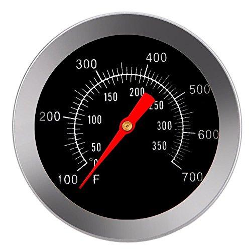 51r9x2AD8LL - Haushaltsthermometer Bratenthermometer Edelstahl BBQ Zubehör Grill Fleisch Thermometer Zifferblatt Temperatur