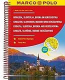 MARCO POLO Reiseatlas Kroatien, Slowenien, Bosnien und Herzegowina 1:300 (MARCO POLO Reiseatlanten) - Marco Polo Travel