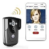 WI-FI Wireless Video Türsprechanlage Türklingel Intercom mit Nachtsicht wasserdicht IP55 Wifi Türklingel