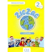 Zigzag 2 - Niveau A1.2 - CD audio collectif