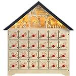 WeRChristmas Pre-Lit Wooden Nativity...