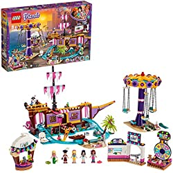 LEGO®-Friends Le quai de Heartlake City Jouet pour Fille et Garçon à Partir de 8 Ans et Plus, 1251 Pièces 41375