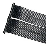 ZELSIUS Solarheizung Poolheizung Sonnenkollektor Solarabsorber Solarmatte für Swimming Pool ca.