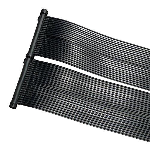 Calefacción de Piscina-Panel solar para conectar a su bomba existente con este colector solar puede calentar el agua de su piscinas. muy natural y respetuoso con el medio ambiente gracias a la energía solar se ahorre los costes de muy alta corrien...