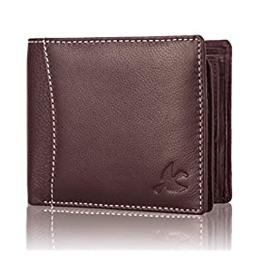 Hornbull Men's Brown Odense Leather Wallet