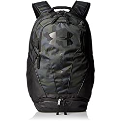 Under Armour 30 Ltrs Desert Sand /Black / Black Laptop Backpack (UA Hustle 3.0 Backpack)