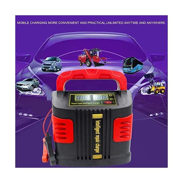 Huihuiya Cargador portátil Inteligente Coche del vehículo Vehículo de Motor 350W 14A Ajuste del Coche LCD Cargador de…