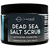 Dead Sea Salt Activated Charcoal Scrub Extreme Pore Cleansing Exfoliating Face & Body Hydrates Detoxifies Anti Cellulite Mini