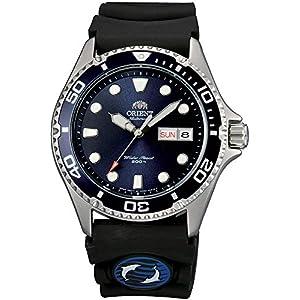 Orient Reloj Analógico para Hombre de Automático con Correa en Caucho FAA02008D9
