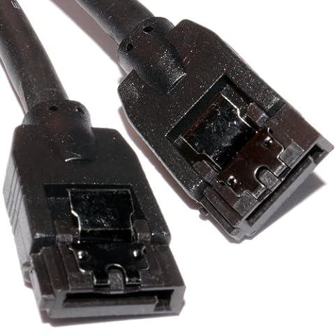 SATA III Sicherungslasche Stecker Zum Stecker 6GB 6 Gbps Hoch Geschwindigkeit Kabel Anschlusskabel 45 cm
