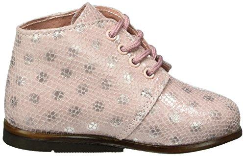 Aster Odria, Chaussures Marche Bébé Fille Rose - Noir (13)