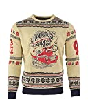 Harry Potter Christmas Jumper Ugly Sweater Hogwarts Express, Pullover, mehrfarbig, Größe L
