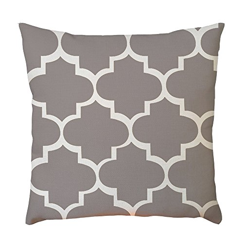 2019 nuovo moda exquisite geometric patterns lino pillow case vita cuscino divano home decor 45cm × 45cm/ 18 × 18 pollici by wudube