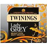 Twinings Lady Grey 100 por paquete