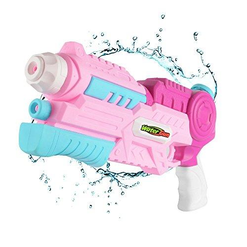 fightingeveryone1O Pistolet à Eau Longue portée pour Les Enfants Filles Summer Party & Outdoor Water Activité...