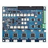 Homyl DUEX5 Erweiterungskarte Deux 5 Kanal Board Panel für 3D-Drucker und CNC-Maschine