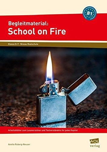 Gratis Begleitmaterial School On Fire Niveau B1