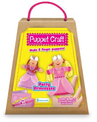 Kit de marionnettes à doigt à fabriquer : princesses