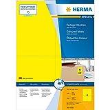 Herma 4396 Étiquettes 105 x 148 A4 400 pièces Jaune