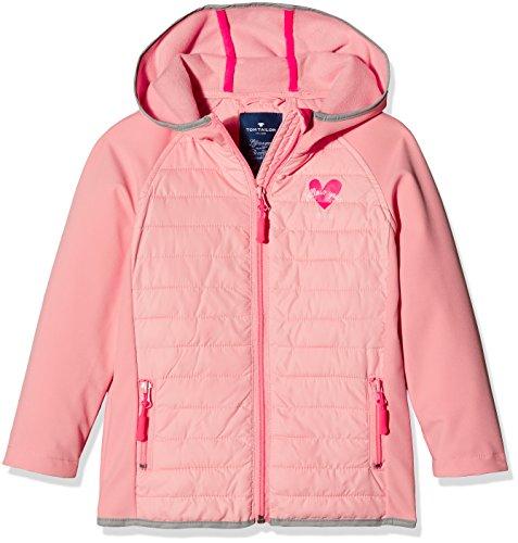 5f1d69167dfd28 TOM TAILOR Kids Softshell Fake Down Mix Jacket, Chaqueta para Niños, Rosa  (Bubble