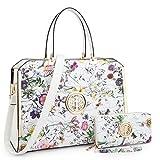 Ladies Large Handbags Shoulder Bags Briefcases Satchel Structured Purses Work Bags for Women