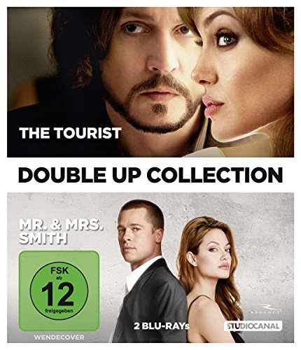 The Tourist/Mr. & Mrs. Smith - Double-Up Collection [Blu-ray]