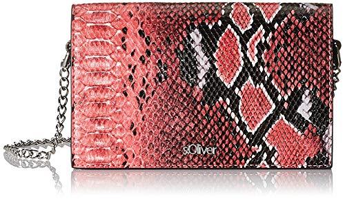 s.Oliver Damen 39.908.94.2714 Umhängetasche, Pink (Purple/Pink), 4x11x20 cm