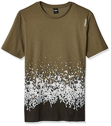 c7a4c623ad Oakley Mens Men's Gradient Pixel TEE Shirt, Dark Brush, ...