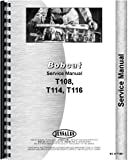Bobcat T114 Skid Steer Loader Service Manual
