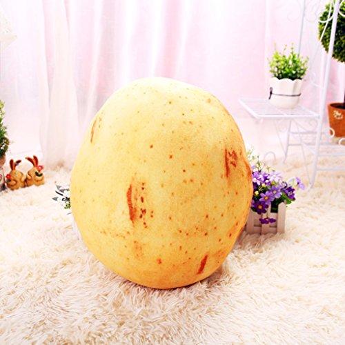 WEBO HOME- Früchte und Gemüse Kissen Spielzeug Kissen Kissen Wohnzimmer Geburtstag Geschenke -Kissen ( Farbe : Potatoes )