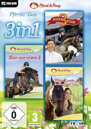 3 in 1: Riding Star 3 & Lass uns Reiten 2 & Mein Gestüt: Ein Leben für die Pferde (Spring Reiten Pferd)