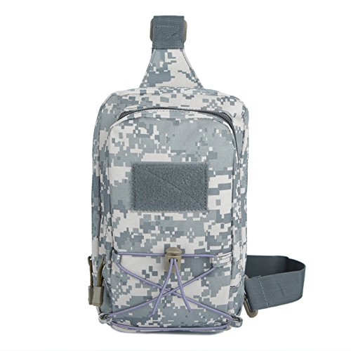 Outdoor-Klettern Chest Pack/Camo-Tasche/Damen Sport Messenger Bag/ Multi-funktionale Kleinsendung B