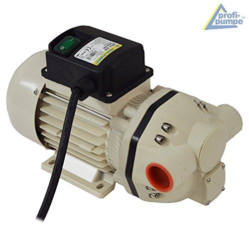 AdBlue® 230V – PUMPE AdBlue-PUMPENSET HARNSTOFF-PUMPE, mit Saug- und Druckschlauch, Zapf-Pistole und Zubehör, LEISTUNGSSTARKER ELEKTROMOTOR mit KUPFERWICKLUNG, JETZT MIT EXTRA-Ersparnis! Elektrische pumpe für DIESEL Fasspumpe - 3